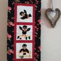 kleiner Wandbehang mit Motiv Rabe Bild 2