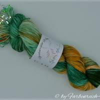 "Sockenwolle, handgefärbte Wolle - ""Galway girl"" - 4-fädig - Unikat !! Bild 2"