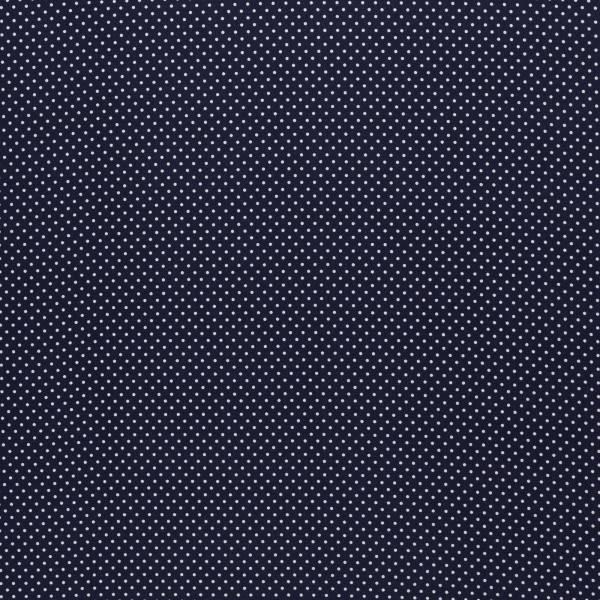 Baumwolle Judith 2mm Tupfen dunkelblau Bild 1