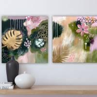 """""""KISS THE SUMMER 2"""" 40 x 40 cm Acrylbild  Bild 8"""