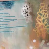 """""""TROPICAL FEELINGS"""" 80 x 80 cm Acrylbild  Bild 6"""