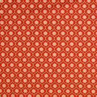 Weihnachtsstoff Baumwolle Popeline Glitzerdruck Sterne rot/gold (1m/10,-€)  Bild 2