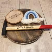 Personalisierter Hammer / individuelle Lasergravur / Geschenkidee für Vatertag, Geburtstag usw.. Bild 2