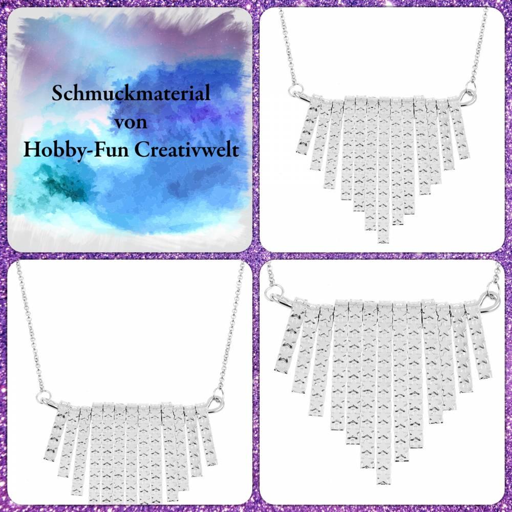 HFC28108-GK: Halskette mit großem Anhänger Bild 1