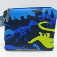 Geldbörse Dino, Dinosaurier, Geschenk Einschulung, Schulanfang Bild 3