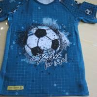 Öko Baby Kickers for Life Fußball T-shirt Top Motiv  Gr. 92 oder 128 in anderen Größen oder Farbenzu bestellen Bild 2