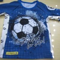 Öko Baby Kickers for Life Fußball T-shirt Top Motiv  Gr. 92 oder 128 in anderen Größen oder Farbenzu bestellen Bild 3