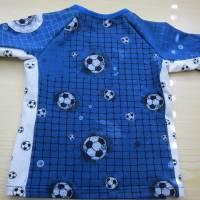 Öko Baby Kickers for Life Fußball T-shirt Top Motiv  Gr. 92 oder 128 in anderen Größen oder Farbenzu bestellen Bild 4