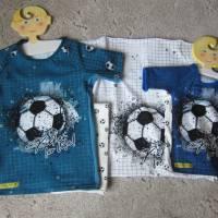 Öko Baby Kickers for Life Fußball T-shirt Top Motiv  Gr. 92 oder 128 in anderen Größen oder Farbenzu bestellen Bild 5