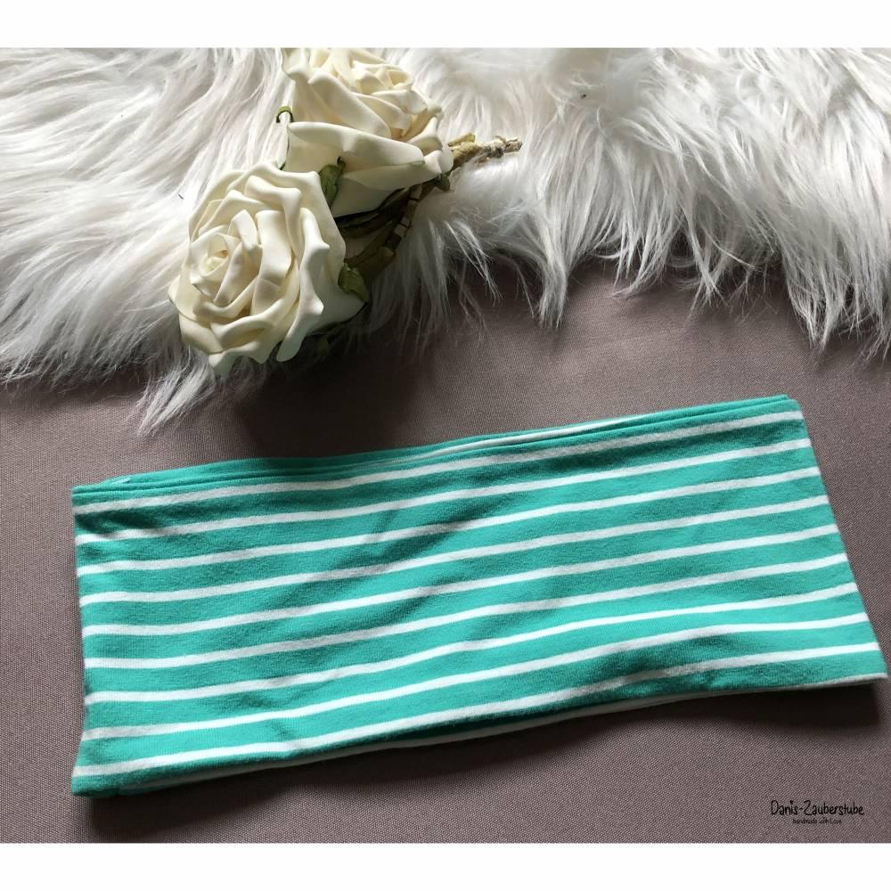 Stirnband, Haarband, Streifen Gr. 49/50cm Bild 1