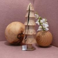gedrechselter Holzbaum Holzbäumchen Baum Deko Weihnachtsdeko Bild 4