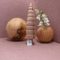 gedrechselter Holzbaum Holzbäumchen Baum Deko Weihnachtsdeko Bild 9