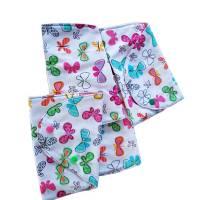 kleine Stofftasche mit Schmetterlingen, nachhaltiger Geschenkebeutel, Bild 4