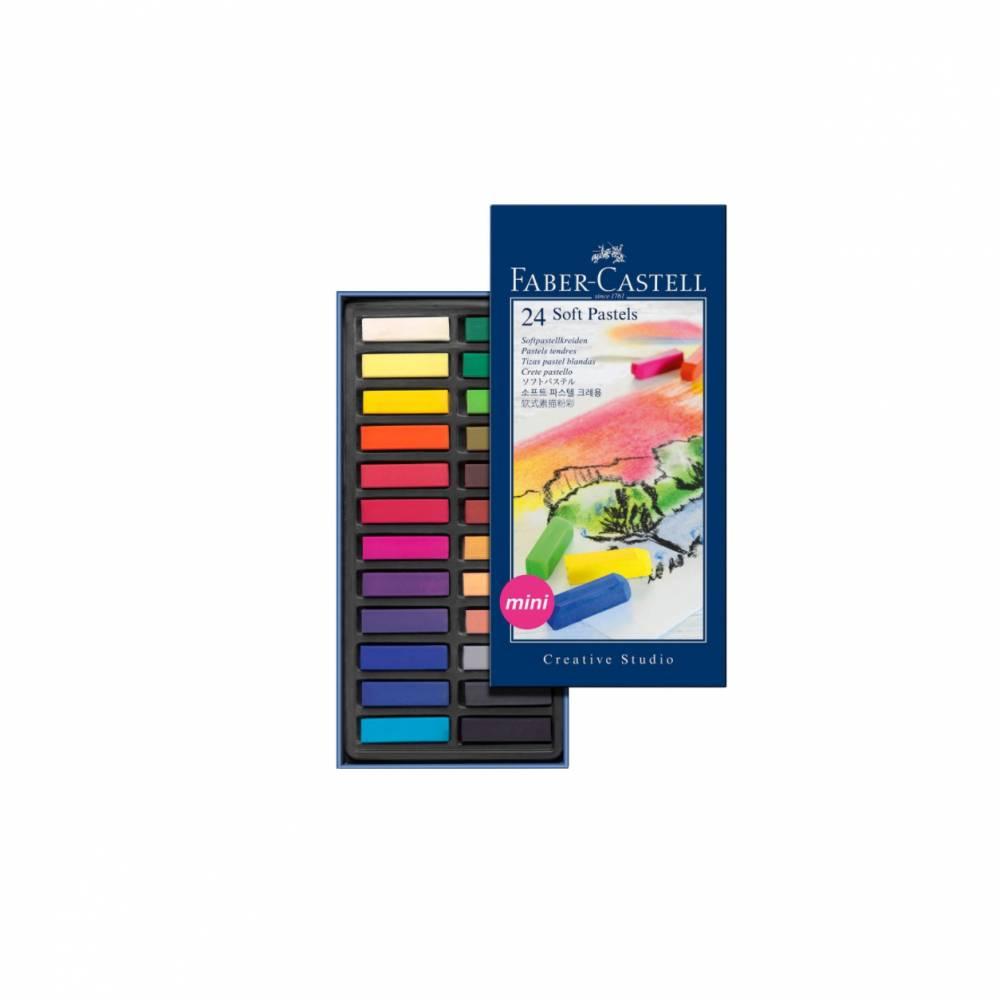 Ölkreide 24 Farben mini Farber Castell Bild 1