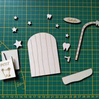 Zahnfeetür | Feentür Zahnfee Zaubertür Magische Tür Bild 3