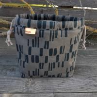 Projekttasche - Projektbeutel - Tasche mit Zugband  Bild 1