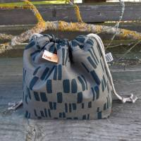 Projekttasche - Projektbeutel - Tasche mit Zugband  Bild 2