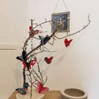 Schmetterlinge aus Baumwollstoff - Dekoration für Sommer oder Frühling Bild 1