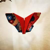 Schmetterlinge aus Baumwollstoff - Dekoration für Sommer oder Frühling Bild 5
