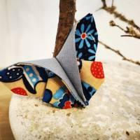 Schmetterlinge aus Baumwollstoff - Dekoration für Sommer oder Frühling Bild 7