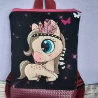 Kinderrucksack, Rucksack für Kinder mit Pferd Bild 1
