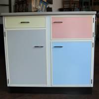 Küchenschrank Büffet pastell 50er Jahre Bild 1