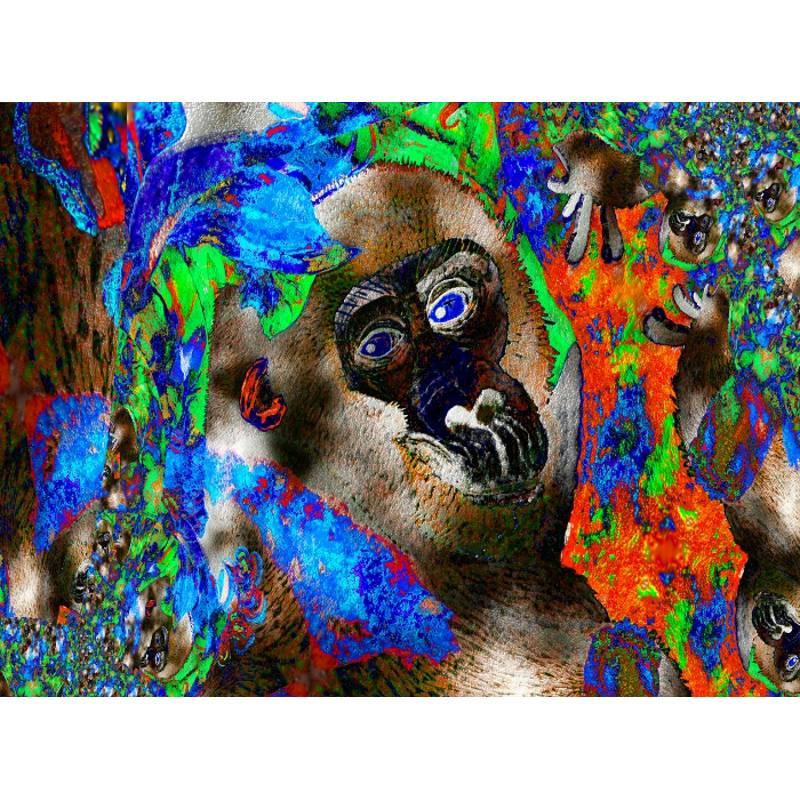 Dschungel - Impressionen - Digital-ART - Kunstwerk 1/10 – Design  Ulrike Kröll Bild 1