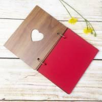 Personalisiertes Fotoalbum mit Wunschgravur, perfekt als Geschenk für Geburt / Geburtstage und viele andere Anlässe Bild 2