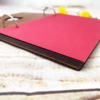 Personalisiertes Fotoalbum mit Wunschgravur, perfekt als Geschenk für Geburt / Geburtstage und viele andere Anlässe Bild 4