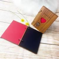 Personalisiertes Fotoalbum mit Wunschgravur, perfekt als Geschenk für Geburt / Geburtstage und viele andere Anlässe Bild 5