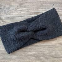 Handgestricktes Stirnband aus Wolle von d_handmade_o Bild 1