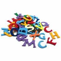 Moosgummi Zahlen und ABC Bild 2