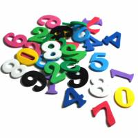 Moosgummi Zahlen und ABC Bild 3