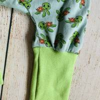 Jersey Knickerbocker Pumphose Schildkröten Gr. 86-92 Bild 4