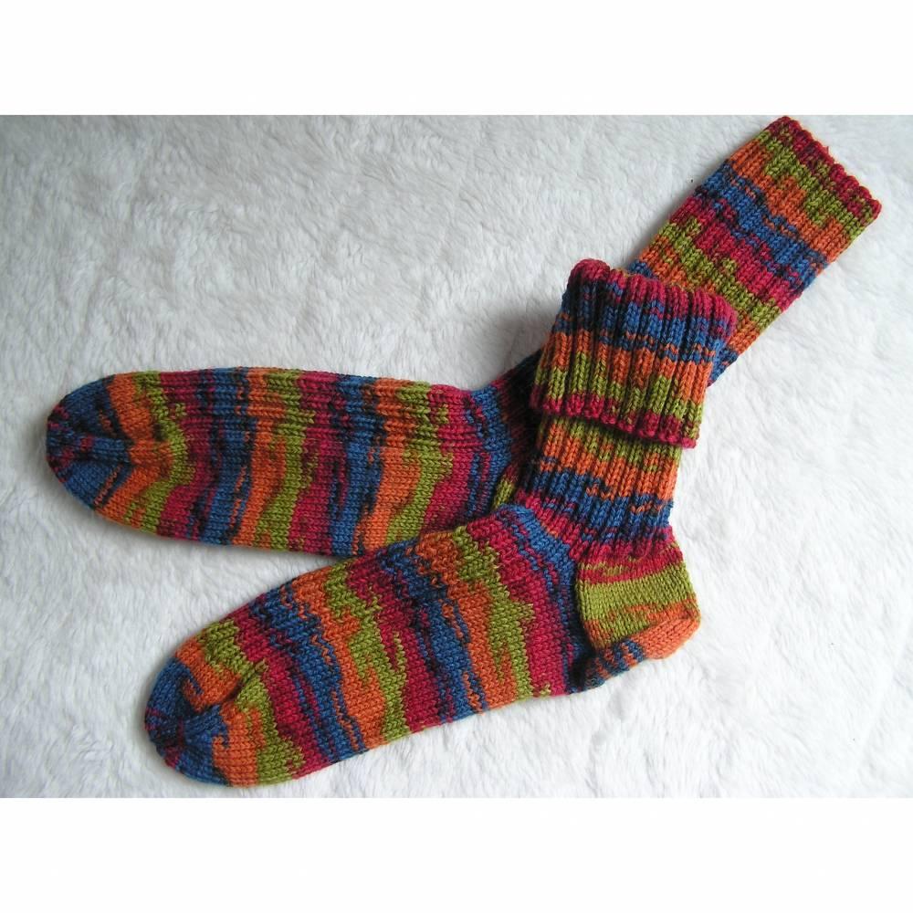 Socken - Gr. 47 - handgestrickt Bild 1