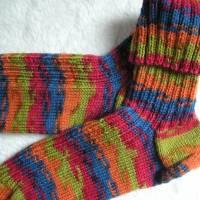 Socken - Gr. 47 - handgestrickt Bild 2