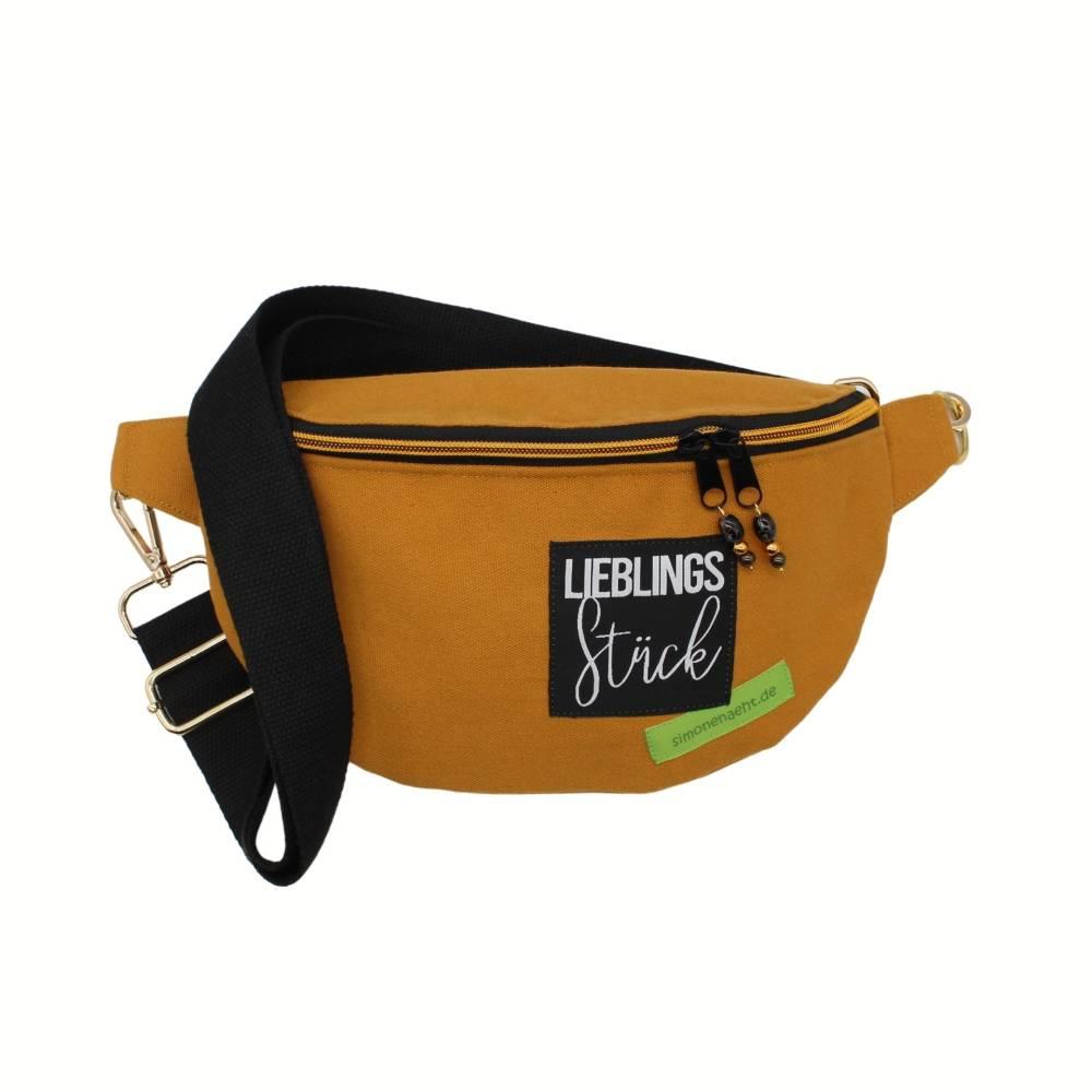 """Bauchtasche """"Lili""""  trendiger Cross-Body-Bag, Bodybag , Hüfttasche aus Canvas, Umhängetasche, Festivaltasche Bild 1"""