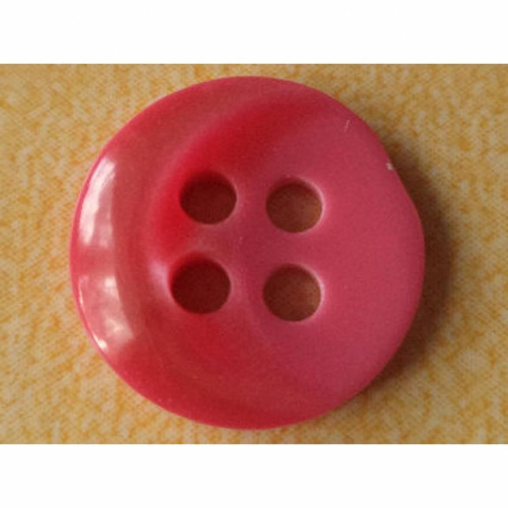 kleine Knöpfe 13mm pink (928) Bild 1