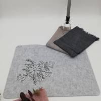 """Digitale Stickdatei Country Plants Blackwork für den 10x10 - 20x30 cm (4x4 - 8x12"""") Stickrahmen Bild 10"""