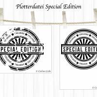 Plotterdatei Stempel Special Edition Bild 2