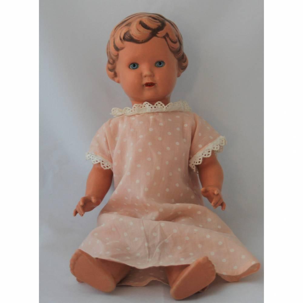 alte Schildkröt Puppe 40 Ursel für Sammler Bild 1