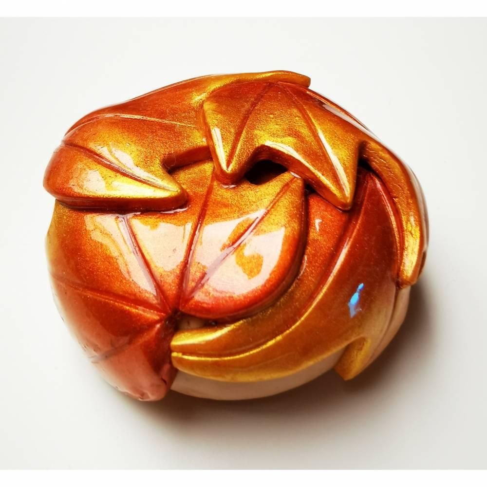 Nähgewicht, Donut, Herbst gold Bild 1