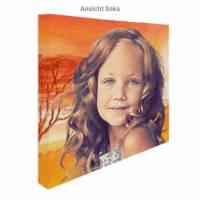 Personalisiertes Kinder Portrait von Deinem Foto Bild 3
