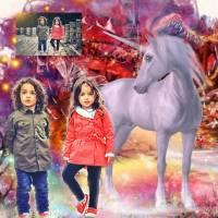 Personalisiertes Kinder Portrait von Deinem Foto Bild 4