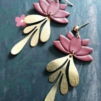 """Ohrringe """"Lotusblatt' Bild 1"""