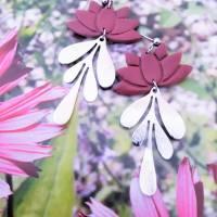 """Ohrringe """"Lotusblatt' Bild 3"""