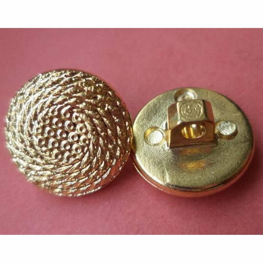 goldene Knöpfe 14mm (5396) Bild 1