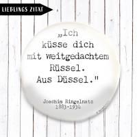 Zitat Joachim Ringelnatz Magnet  Bild 1