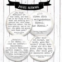 Zitat Joachim Ringelnatz Magnet  Bild 3