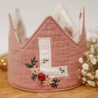 Freebook Krone - nähe eine Geburtstagskrone für jedes Alter zum Binden in Einheitsgröße! Bild 1